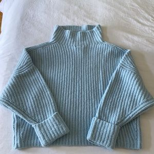 BWT Anthropologie Skyblue sweater